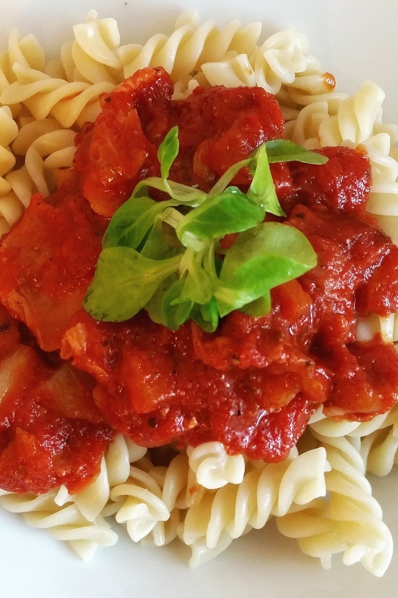 Roasted Tomato Orzo Pasta